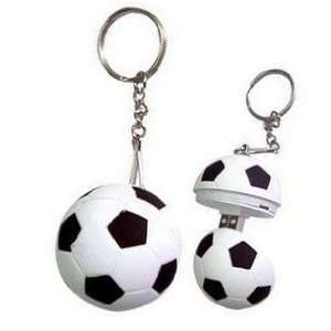 Cool Cute Soccer Ball Shape 4gb Usb Flash Drive