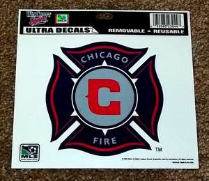 Chicago Fire MLS Soccer Team Logo Sports Decal / Bumper Sticker
