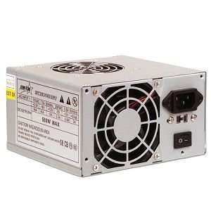 Echo Star 580 Watt 20 pin Dual Fan ATX Power Supply Electronics