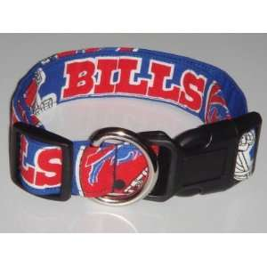 NFL Buffalo Bills Football Dog Collar Blue Small 1
