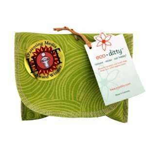 Snack Ditty organic snack bag, Let it Grow Green