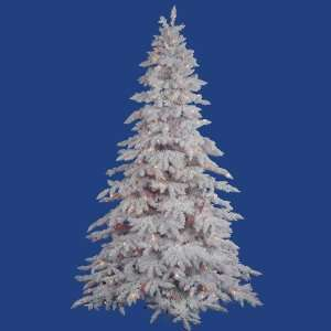 White Spruce Artificial Christmas Tree   Multi Lights