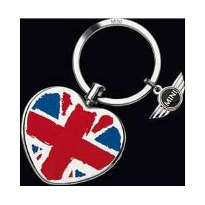 MINI Cooper Key Ring with Heart Locket Automotive