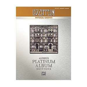 Led Zeppelin Physical Graffiti Platinum Drums Book