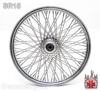 WIDEGLIDE FRONT END CONVERSION KIT 80 SPOKES WHEEL RIM FOR HARLEY