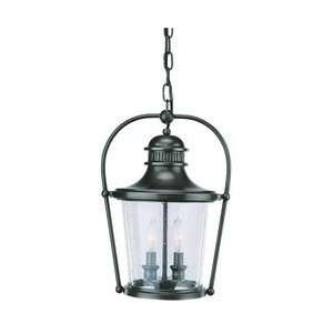 Troy Lighting F2037EB Guild Hall   Two Light Outdoor Medium Hanging