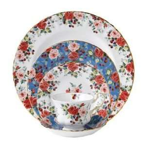 Royal Albert Rosa Four 5 Pc Place Settings Kitchen