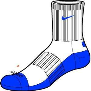 Nike Fit Dry Basketball Arch Support 1 Pair Mens Sock