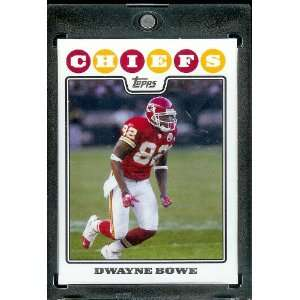 2008 Topps # 122 Dwayne Bowe   Kansas City Chiefs   NFL Trading Cards