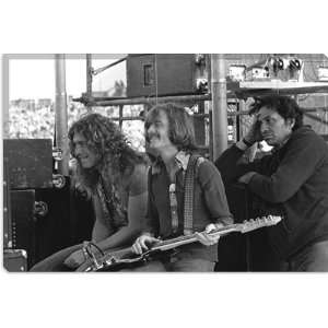 Led Zeppelins Robert Plant and John Paul Jones 1973 Photographic