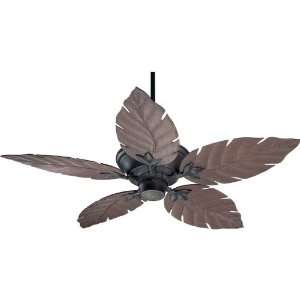 Tropical / Safari Outdoor Ceiling Fan from the Monaco Patio Collection
