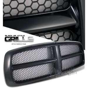 02 06 Dodge Ram Sport Grille   Black Painted OEM Style