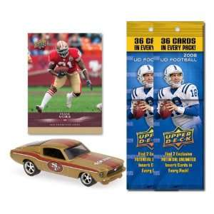 San Francisco 49ers 1967 Ford Mustang Fastback Die Cast