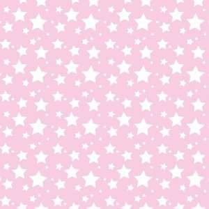 STARS PASTEL PINK & WHITE PATTERN Vinyl Decals 3 Sheets 12x12 Cricut
