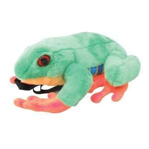 17 Red Eye Tree Frog Plush Stuffed Animal Backpack Toys