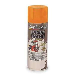 DupliColor Chevrolet Orange Engine Paint with CERAMIC