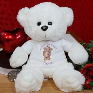 Personalized Bears in Love Teddy Bear Toys & Games