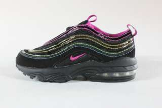 97 Black Purple Yellow Green Pre School Kids Authentic Sneakers New