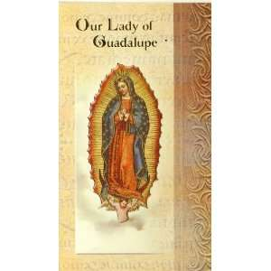 Our Lady of Guadalupe Biography Card (500 105) (F5 216
