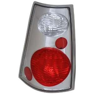 Anzo USA 211085 Ford Explorer Sport Trac Chrome Tail Light