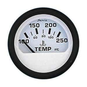 Faria 12904 Euro White Water Temperature Gauge Automotive