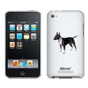 Miniature Bull Terrier on iPod Touch 4G XGear Shell Case