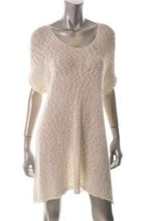 Free People NEW White Casual Dress Knit Sale M