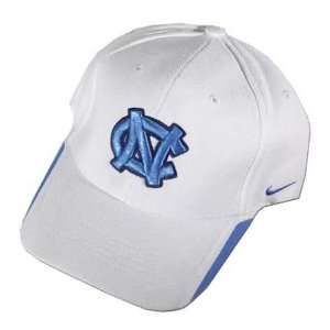 Nike North Carolina Tar Heels (UNC) White Coaches Hat
