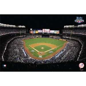 New York Yankees Yankee Stadium 2009 World Series Pre Pasted Wallpaper