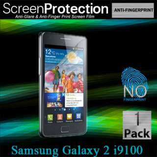 Samsung Galaxy S2 i9100 Anti Glare Fingerprint Screen Protector Matte