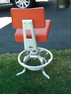 GOODFORM machine age DRAFTING STOOL GENERAL FIREPROOFING toledo