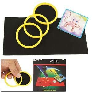 Como Party Magic Trick Gimmick Yellow Rings Animal Eats