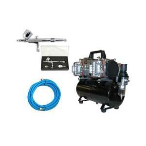TC 848 Four Cylinder Piston Air Compressor with Tank