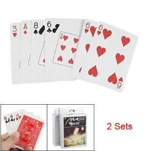 Como 2 Sets Magic Trick Playing Cards Poker Speed Prediction Baby