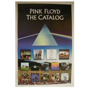 Pink Floyd Poster the Catalogue Shots of Albums