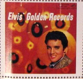 HARD TOFIND MINT Stamps 36 DIFFERENT Elvis Presley EP LP Album Covers