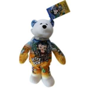 Treasures Bear Biker Betty   Betty Boop Novelty Bear Toys & Games