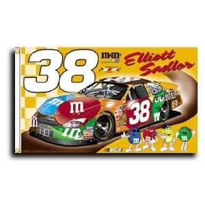 Elliott Sadler   Nascar Flags Patio, Lawn & Garden