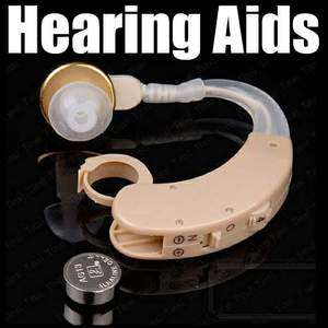 Hearing Aids Aid Digital Tone Behind Ear Voice Sound Amplifier