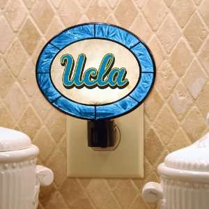of 3 NCAA UCLA Bruins Stained Glass Night Lights