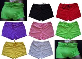 KZ345 HOT MENs BOXER BRIEFS TRUNK LaceUp Front Colors