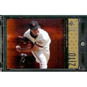 Edition # 44 Barry Zito / Giants / MLB Trading Card