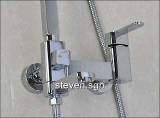 2011 Luxury Wall Mounted Rain Shower Faucet Set J1805