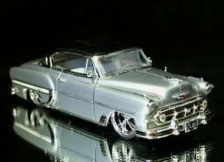 1953 Chevy Bel Air DUBCity OLD SKOOL 124 Scale Sillver