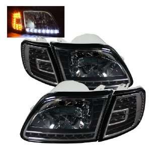 Spyder Auto Ford F150 / Expedition Crystal Headlights W