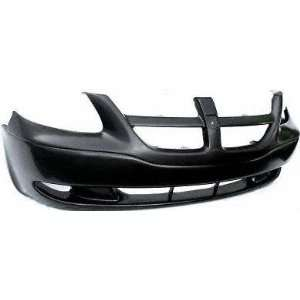 01 04 DODGE GRAND CARAVAN FRONT BUMPER COVER VAN, Raw, w/o