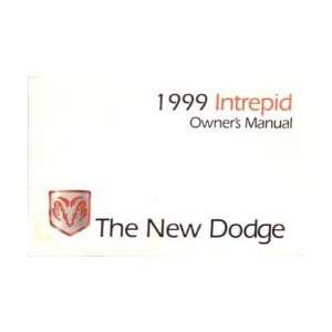 1999 DODGE INTREPID Owners Manual User Guide Automotive
