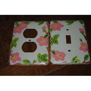 Desert Rose Light Switch & Electrical Plate Set