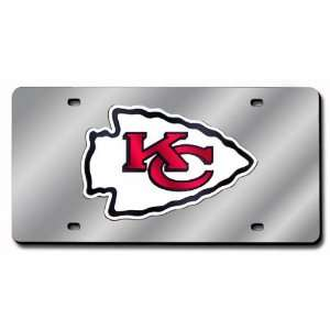Kansas City Chiefs License Plate Laser Tag Sports