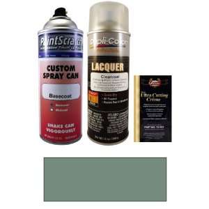 12.5 Oz. Dark Green Gray Metallic Spray Can Paint Kit for